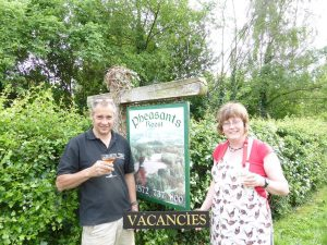 Jane and Mark Pheasants Roost Bed and Breakfast Manton Oakham Rutland