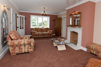 Pheasants Roost Luxury Bed and Breakfast lounge